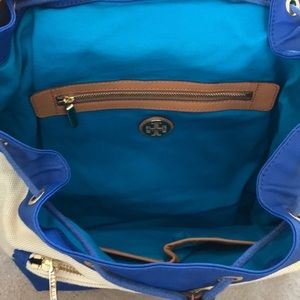Tory Burch Bags - tory burch canvas backpack